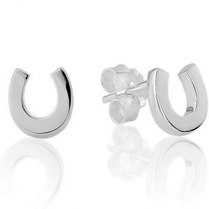 Horseshoe Stud Earrings
