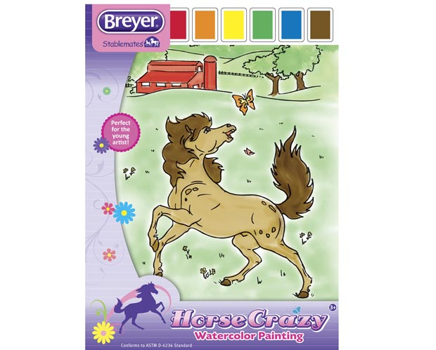 Breyer Watercolour Painting Book