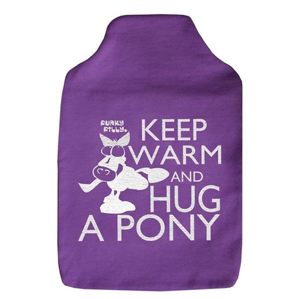 Funky Filly Keen Warm and Hug A Pony Hottie Cover