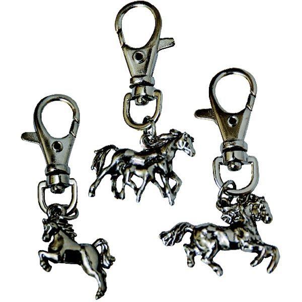 Peli Horse Keyrings