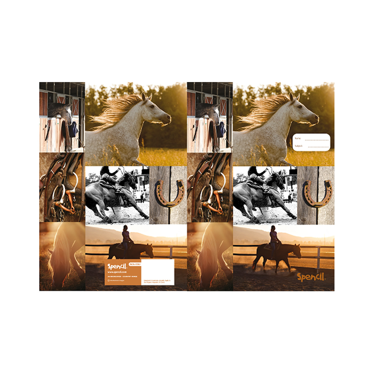 Country Horse Book Covers Filly And Co Horse Gifts