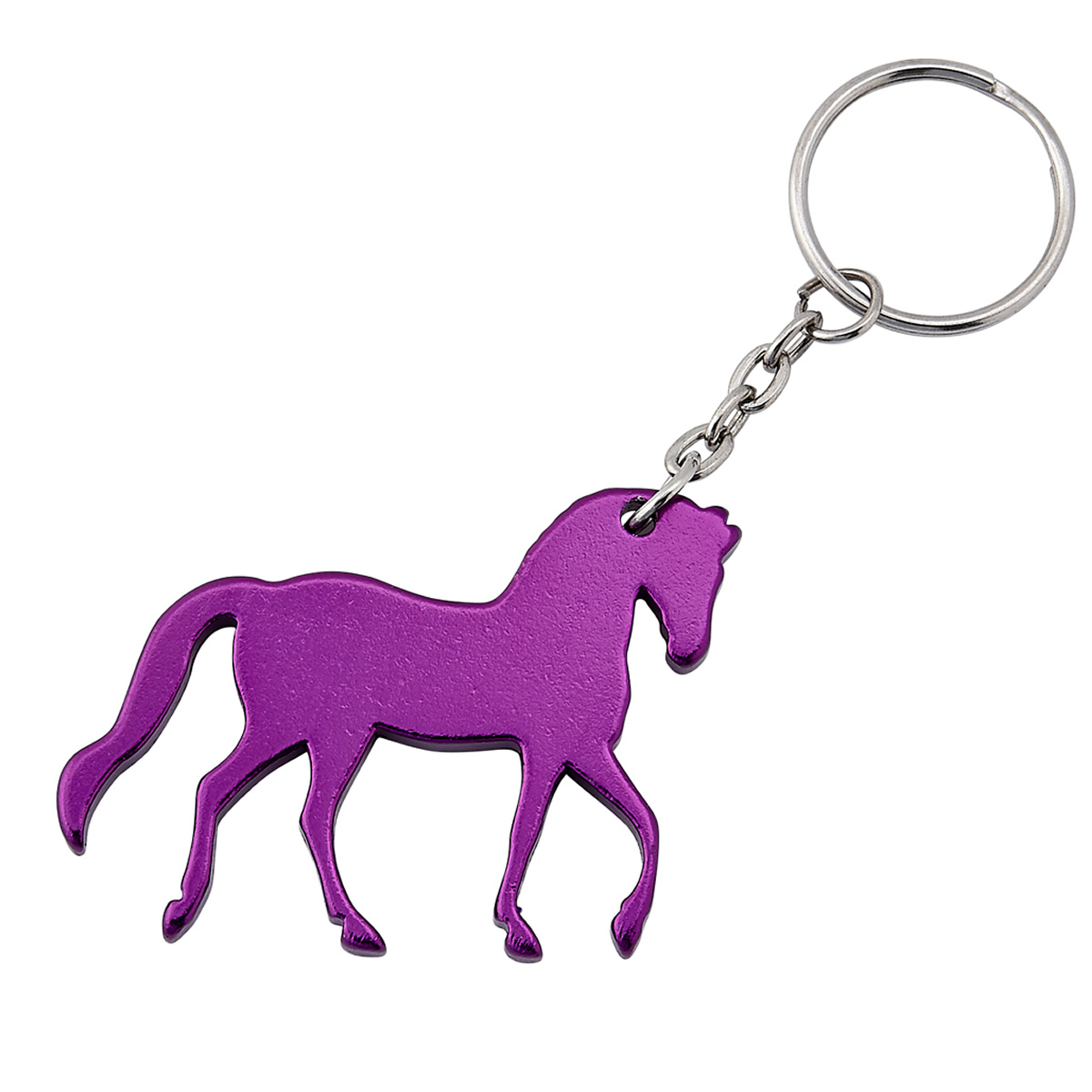 Purple Prancing Horse Key Chain Filly And Co