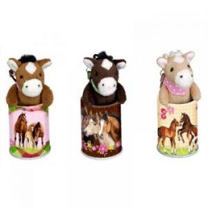 Mini Horse Pendants in a Tin