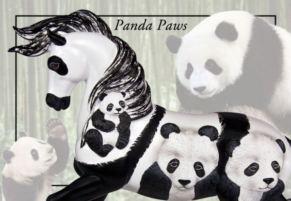 Trail of Painted Ponies Panda Paws
