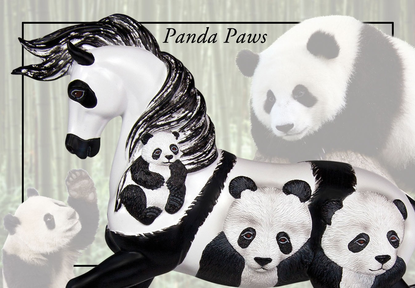 Trail Of Painted Ponies Panda Paws Filly And Co