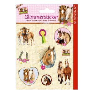 Horse Friends Glitter Stickers