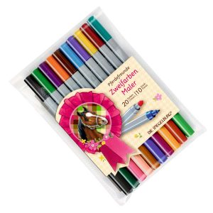 Horse Colouring Pen Set