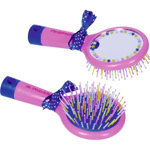 Horse Friends Hairbrush with Mirror