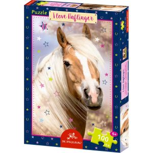 Box Puzzle I love Haflinger