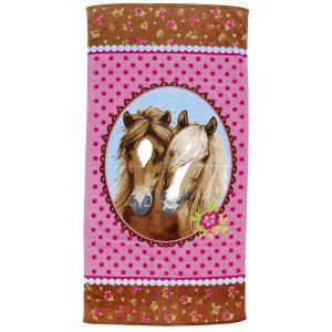 Two Horses Magic Bath Towel