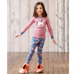 Pink Horse slouch Slippers