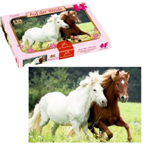 Horses in the meadow puzzle