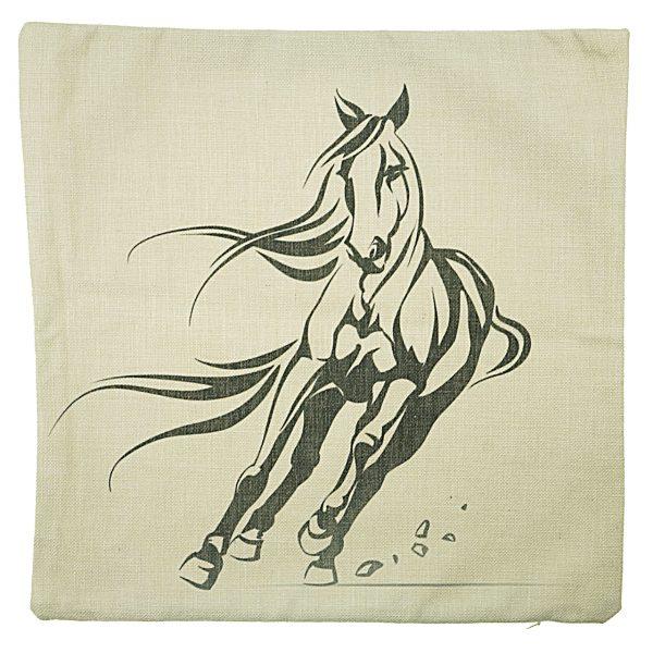 Running Horse Cushion