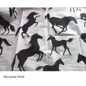 Stallion Quilt Reverse