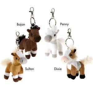 Soft Horse Keyring