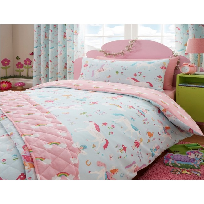 Magic unicorn duvet set filly and co horse gifts for Wallpaper sheets for sale