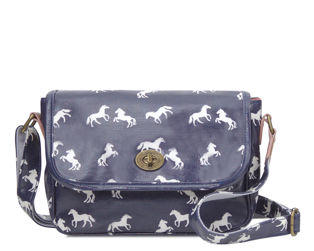 94888ddbe06 Horse Handbag in Navy - Filly and Co Horse Gifts