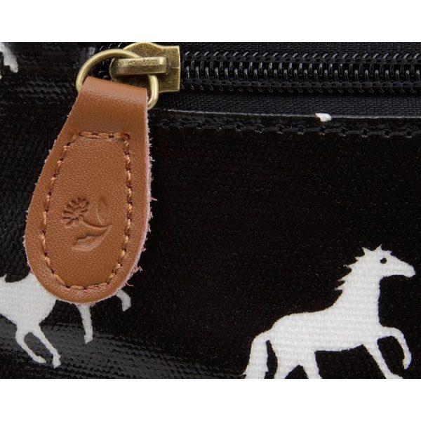 Large Horse Satchel Black