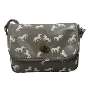Grey Horses Handbag