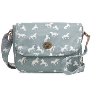 Light Blue Cross Body Handbag