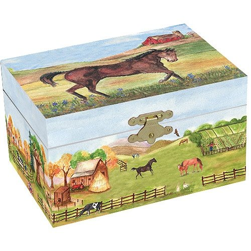 Country Horse Jewellery Box
