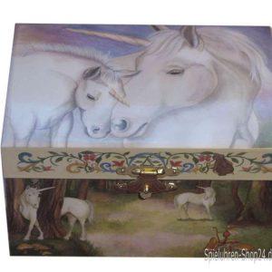 Gentle Unicorn Music Box