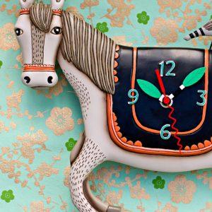 Woah horsey clock