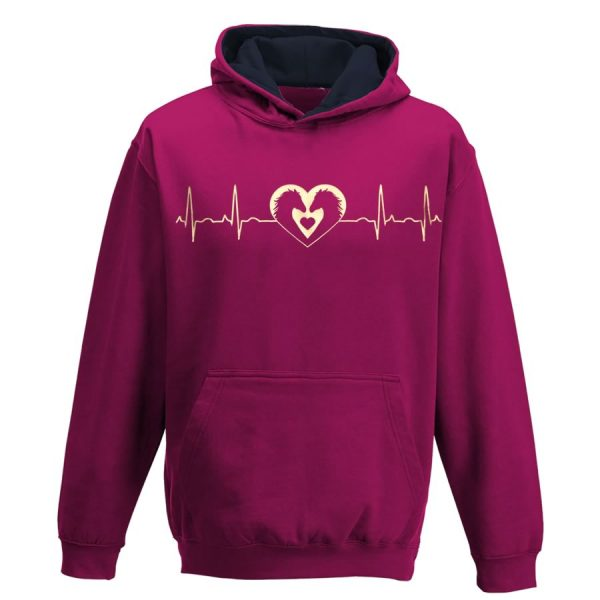 horse heartbeat hoodie
