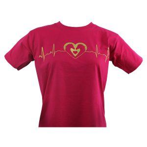 horse heartbeat tee