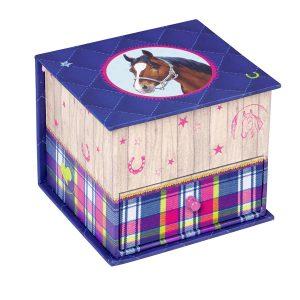 Horse Friends Small Jewellery Box