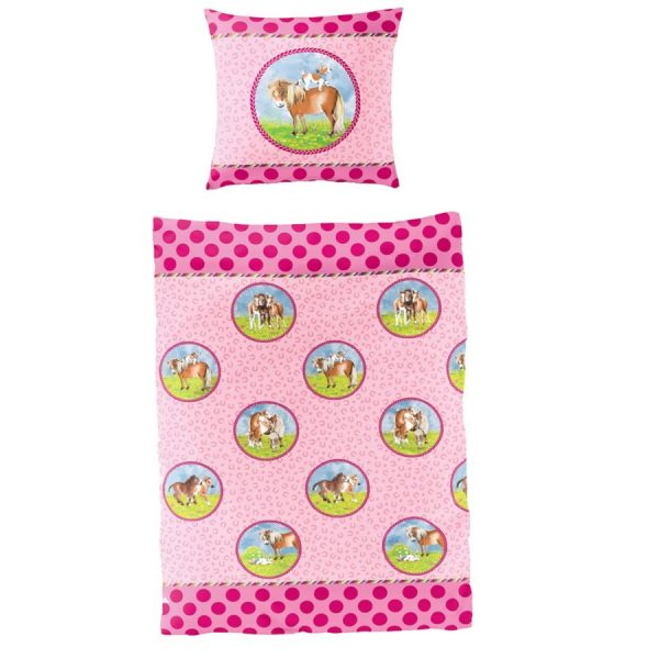 Pony Farm Reversible Bed Set