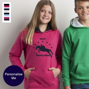 Personalised Horse Hoodies