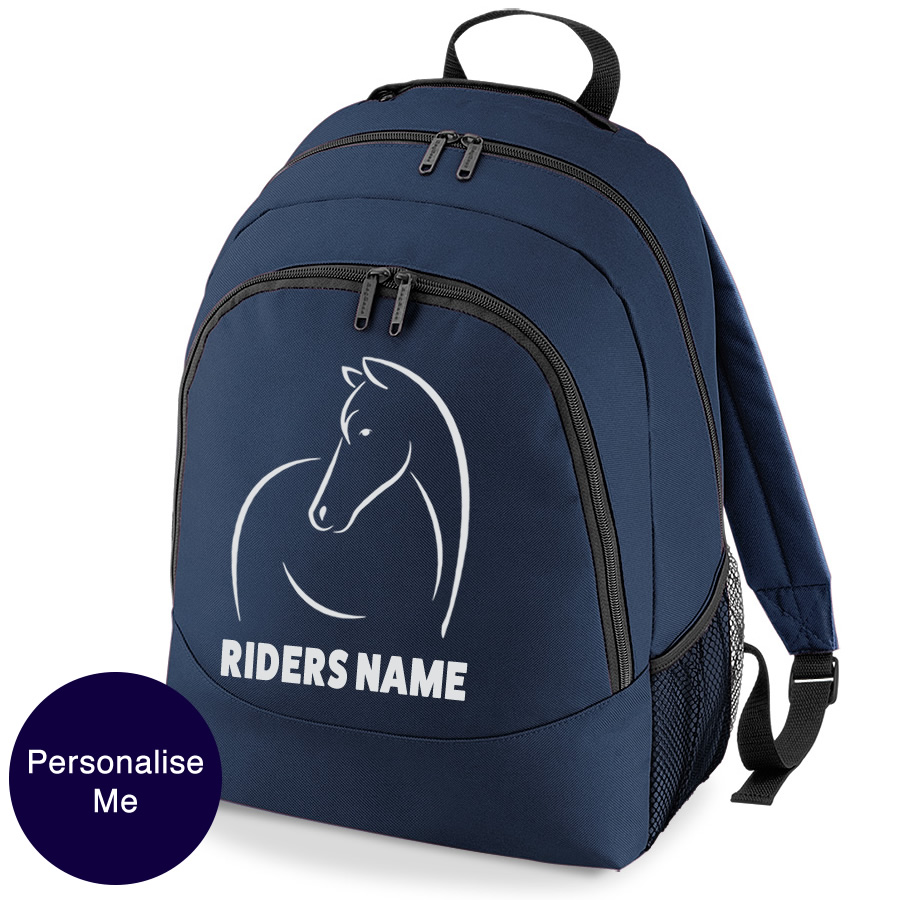 line_horse_backpack - Filly and Co Horse Gifts