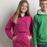 line_horse_pink_model