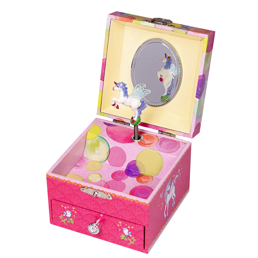 Unicorn Musical Jewellery Box Filly And Co Horse Gifts