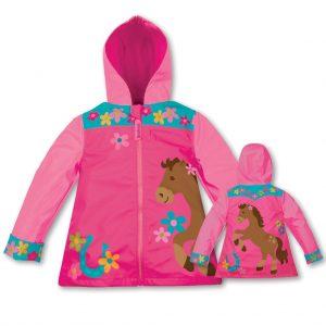 Horse Girl Raincoat