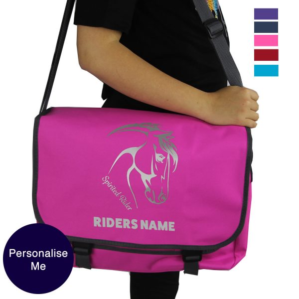 Spirited Rider Messenger Bag