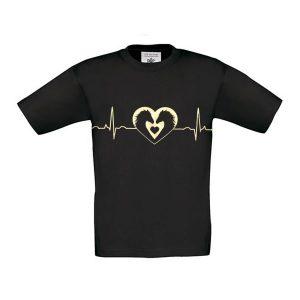 horse heartbeat tee kids