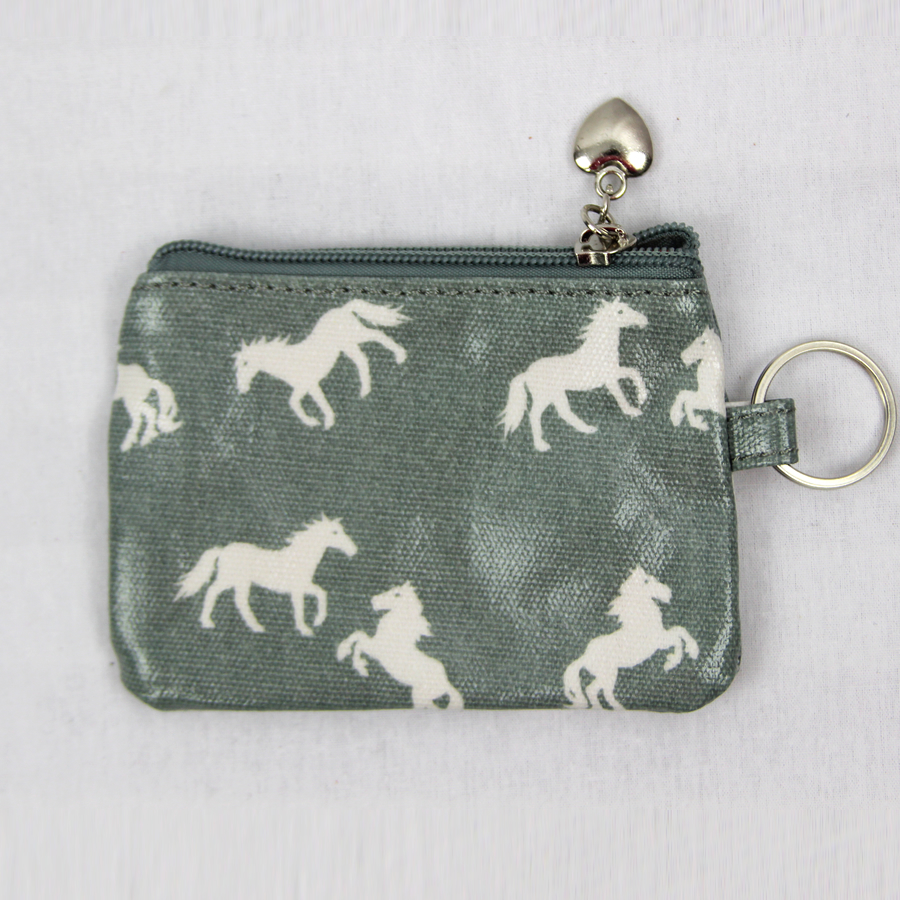 Light Blue Horse coin Purse