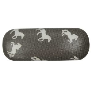 Grey Horses Glasses Case
