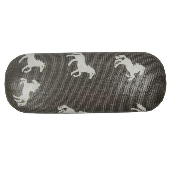 Grey Horses Glasses Case
