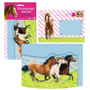 Horse Friends Party Invites