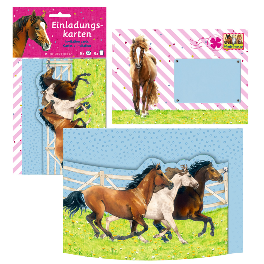 Horse Birthday Party Invites & Decor