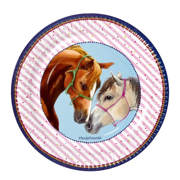 Horse Friends Party Plates