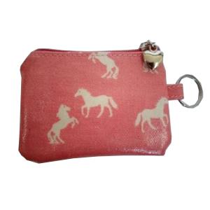 Pink Horse Coin Purse