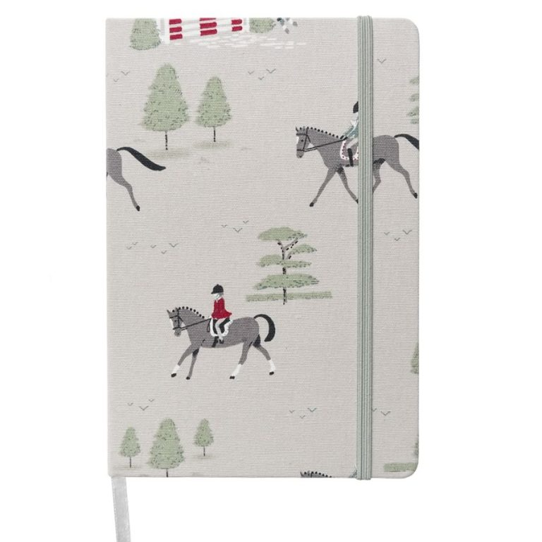 A5 horses notebook