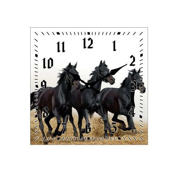 Galloping Horse Clock
