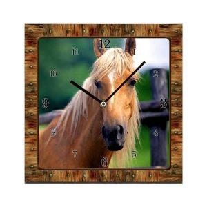 Small Horse Clock