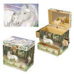 Unicorn music box large