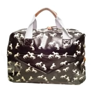 Horse Travel Bag Black